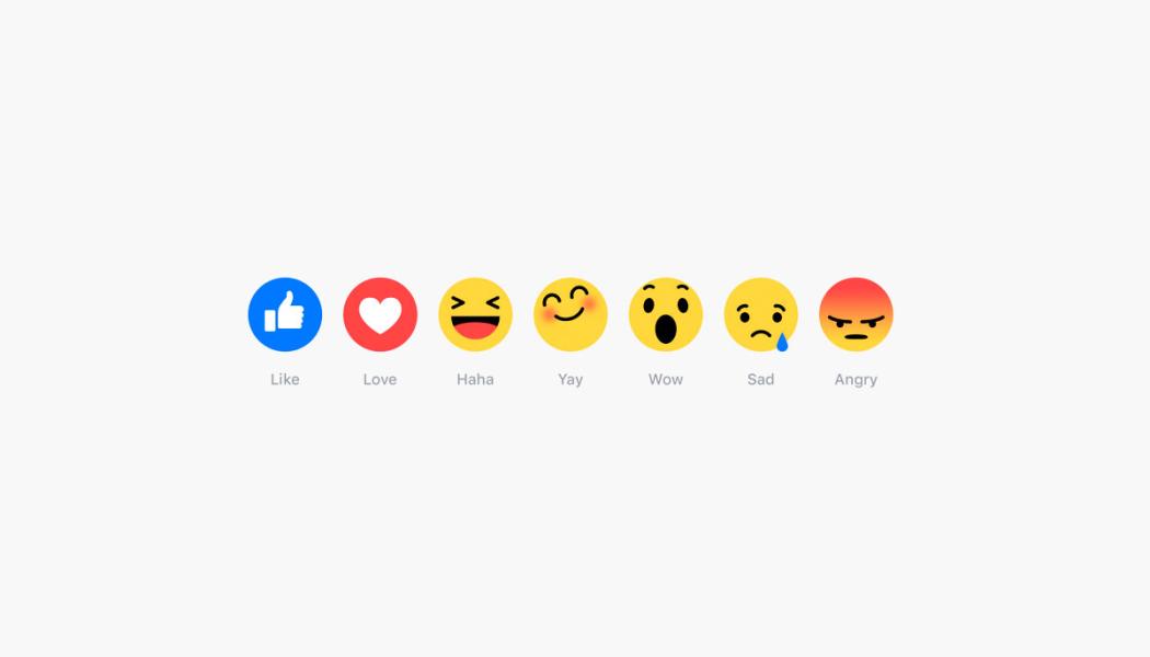 Marcas utilizam Facebook Reactions de forma criativa