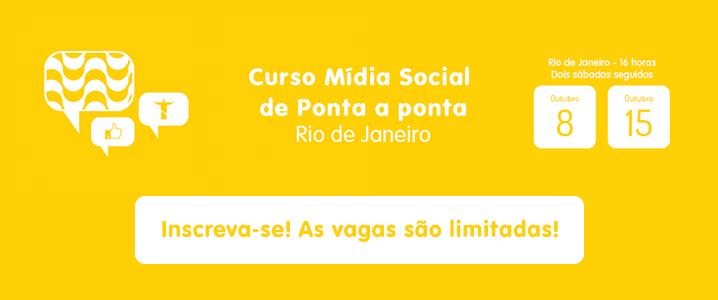 Curso Mídia Social de Ponta a Ponta Rio de Janeiro