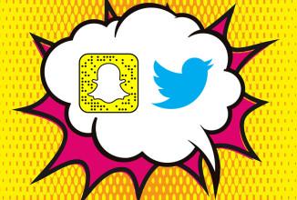 As novidades mais importantes do Snapchat e do Twitter