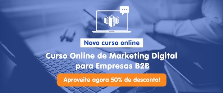Curso Online de Makreting Digital para Empresas B2B